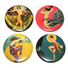 Art Deco Dancers Fridge Magnets Set 55mm 4pc Les Danseurs Gift