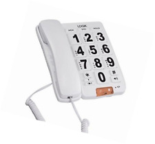 Logik L05CBIG10 Corded Phone Big Button Elderly Infirm Call Light Indicator