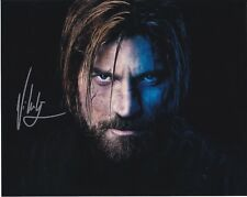 Game of Thrones Nicholas Coster-Waldau autographed 8x10 photograph RP