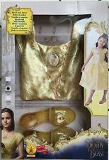 Rubie's Official Disney Belle Beauty & The Beast Childs fancy dress Costume 5-6y