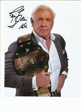 RIC FLAIR AUTHENTIC SIGNED AUTOGRAPH MONTREAL COMICCON 2016 WWE/WWF/WCW