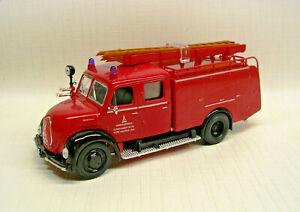 1961 Magirus-Deutz Mercur TLF16 Fire Engine Red 1:43 Die-Cast Yat Ming 43010