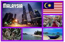 MALAYSIA - SOUVENIR NOVELTY FRIDGE MAGNET - BRAND NEW - LITTLE GIFTS / XMAS