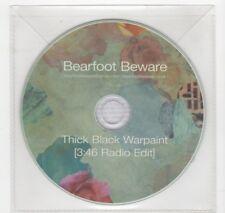(HV471) Bearfoot Beware, Thick Black Warpaint - 2015 DJ CD