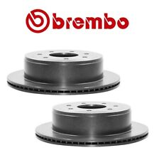 For Ford F-150 HD Pkg Pair Set of 2 Rear Disc Brake Rotors 348 mm 7 Lugs Brembo