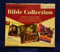 Pre-owned ~ Compton's Bible Collection CD-ROM for Windows ( 3 Bible CD-ROM Set)