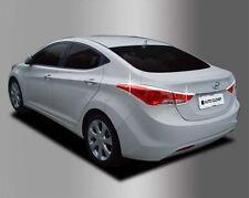 Real Chrome Rear Tail Light Cover Molding Trim for Hyundai Elantra 2011 - 2013