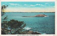 Antique POSTCARD c1910s Reef of Norman's Woe GLOUCESTER, MA MASS. 15145