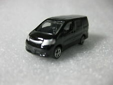Toyota Alphard Black Modellista Diecast Model Toy Car Dress Up Car Lawson Promo
