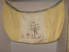 Brandee Danielle African Plains Toy Bag Safari Monkey Yellow Embroidery NEW