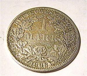 1 Mark Germany Silver 1908