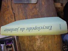 encyclopédie du jardinier texte de böhm / gründ
