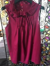 Full circle Deep Pink Top Size 12/med