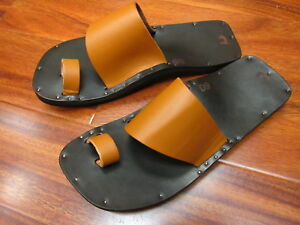 Jutta Neumann Alice Leather Sandal Tan NEW!