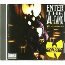 WU-TANG CLAN - ENTER THE WU-TANG  CD 10 TRACKS HIP-HOP / RAP NEU