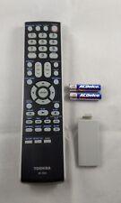 Toshiba DC-SB2 TV DVD Remote Control MD13Q42 MD20F12 WC-SBC1 SBC2 WW31SBH22 TB61