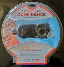 NEW Interlink Electronics Presentation Pilot Pro. Remote + Laser Pointer VP6450