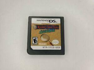 Mystery Case Files - MillionHeir for Nintendo DS millionaire - No Case