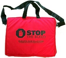 Red Stop the Bleed Kit with Three Quik Clot