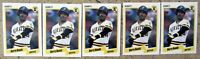 1990 Fleer #461 Barry Bonds Pittsburgh Pirates 5ct Card Lot