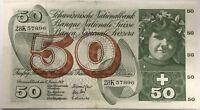 SUISSE - 50 FRANCS (1969) - Billet de banque (TTB)