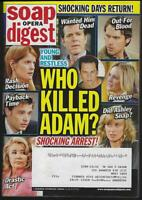 Soap Opera Digest April 27, 2010 Young and Restless Killed Adam David Canary