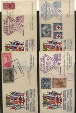 Central  America   4  different  country    Taca flight covers    KL1021