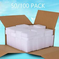 """50 100 Magic Sponge Eraser BULK PACK Melamine Cleaning Foam 3/4"""" Thick UK Seller"""
