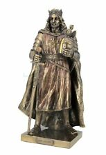 "11"" King Arthur Medieval Knight Collectible Statue Figurine Crusader Armor Sword"