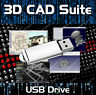 2D 3D CAD - AutoCAD DWG FILE COMPUTER AIDED SOFTWARE ENGINEERING MODELING USB
