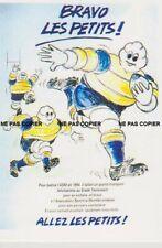 carte postale -  MICHELIN BIBENDUM ASM 1994 STADE TOULOUSAIN RUGBY - 10X15 CM