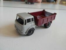 Matchbox Lesney Bedford 7 1/2 ton Tipper in Grey/Dark Red