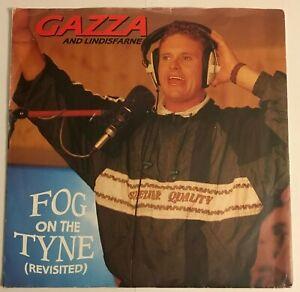 """Gazza & Lindisfarne - """"Fog On The Tyne""""  7"""" (1990) EX / Paul Gascoigne /  LOG8"""