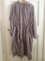 Uniqlo U Lemaire Packable Long Parka Soft Purple Hooded Light Anorak Womens XS +