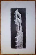 Jean Gourmelin dessin encre signée l'idée, de l'absurde et du fantastique