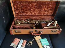 Saxophone buescher aristocrat  new pads