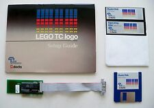LEGO TC Logo - Super Rare DACTA - APPLE IIe & IIgs - Interface Card & Software