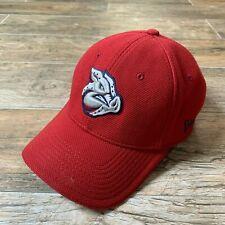 LEHIGH VALLEY IRON PIGS Stretch Fit Hat Cap Red MiLB New Era Alternate EUC M/L