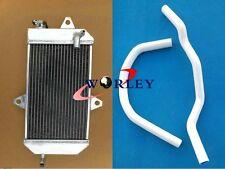 For YAMAHA ATV Banshee YFZ350 YFZ 350 1987-2007 Aluminum Radiator + White Hose