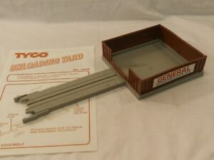Tyco US 1 Unloading Yard Electric Trucking HO Scale Construction Co 3440