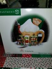 Guc Department 56 North Pole Elfland Series Lighted Christmas The Egg Nog Pub