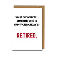 Happy Retirement Card Leaving Funny