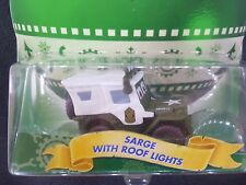 DISNEY PIXAR CARS HOLIDAY SARGE WITH ROOF LIGHTS STORY TELLERS SAVE 5% WORLDWIDE