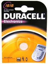 Piles jetables Duracell pour équipement audio et vidéo CR1616