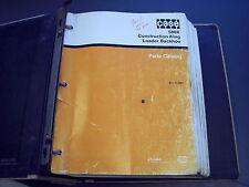 Case 580k Backhoe Parts Catalog Manual Burl 8 3460