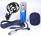 BM800 Pro Condenser Microphone Kit Shock Mount Home Studio Audio Sound Record