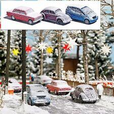 Busch 89010 Drei verschneite Autos für den Winter im Modell