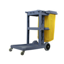 Janitorial Cleaning Trolley, Hotel School, Janitor Housekeeping, heavy duty