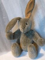 "Artist Vintage  Rabbit 10"" Gray BUZZ jointed floppy ears can stand PRISTINE NEW"