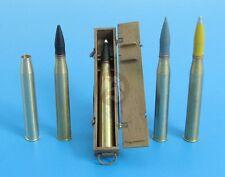 Eureka XXL 1/35 8.8cm Pzgr.Patr.40/43 APCR Ammo & Crate Tiger II KwK.43 A-3522